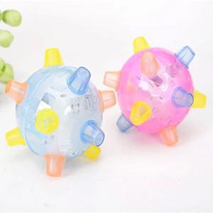 Творческие детские светящиеся игрушки оптом Красочные огни мигающий прыжок мяч новая странная музыка танцы мяч игрушки