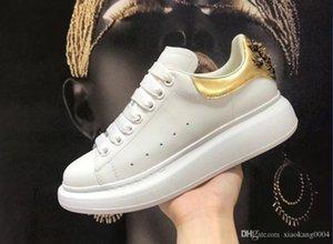 Neuzugänge Krystal Donna Wohnung Männer Turnschuhe Designer LuxuxMens Rot grundiert Schuhe Frauen Junior Spitzen flache Schuhe ydyl19030601