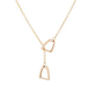 Y Collier coeur Serrure Pendentif Simple Mignon Colliers Chaîne Bijoux De Mode Femmes Filles Cadeau pour Elle