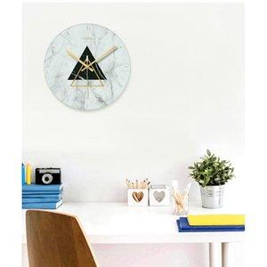 1 Pcs Nordic Art Mute Wall Clock For Home Decor 12 Inch Modern Minimalist Wall Clocks Large Decorative Watches
