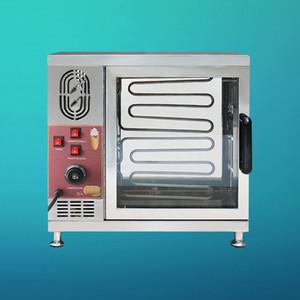Livraison gratuite en acier inoxydable Grille-pain Rotating pain crème glacée Chimney gâteau machine cheminée rouleau four à pain
