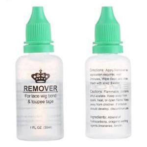 Remover adhesivos para el cordón de la peluca Bond Bisoñes cinta Extensión Tejidos Glue Remover para el cordón frontal de la peluca removedor 8bottles / Lote Ventas