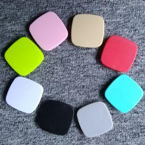 Evrensel Yeni Stil Kare Şekli Düz Renk Cep Telefonu Tutucu Kavrama Hava Yastığı Genişletilebilir Saf Renk Kavrama Telefon Standı 3 M Tutkal Opp Torba Paketi