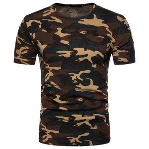 2020 Mode pour hommes de luxe pour hommes Designer T-shirts T-shirt T-shirt de l'impression de camouflage Cultivez soi-même T-shirt Hommes Vêtements Vêtements T Shir