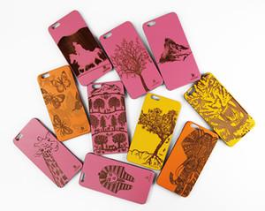 Amazon Best Selling Natural PC stampa cassa del telefono in legno di colore per iPhone 5 6 7 8 Plus X XR XS Max