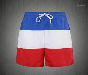 Moda Erkek Kısa Pants Casual Serin Şort Yaz Kasetli Plaj Mens Shorts Running