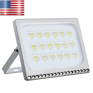 Led Flood light 100W LED Floodlight SMD Outdoor Lamp Cool White Newest Aluminum Lamp USA Stock Free Shipping High Strength High Quality