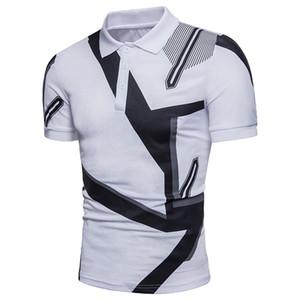 Fashion-Brand Polo Shirts 2019 Estate Donna Uomo Designer Moda Polo Uomo T-Shirt Traspirante Abbigliamento Uomo Polo