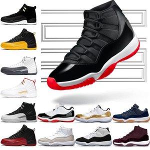 Nike Air Jordan 11 Retro homens mulheres tênis de basquete 11 Concord 45 Platinum Tint Cap e vestido UNC Gym vermelho gama azul Mens Trainer Sport Sneaker