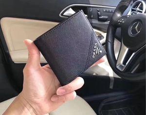 Nova 2020 Homens Carteiras Genuine Designer couro mens carteira Curto Cartão de bolso Bolsa Com Coin titulares frete grátis 312