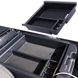 Tacoma 2016-2020 Center Console Organizador Inserir ABS Preto Bandeja Materiais, Armazenamento Secundário Box Apoio de braço