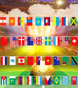 sport basketball trikots fußball link flagge souvenirs 6511