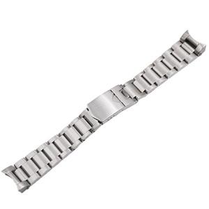 블랙 베이의 경우 최고급 22mm 고품질 316L 스테인레스 스틸 실버 시계 밴드 스트랩 시계 줄