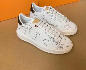34-45 Açık Ayakkabı Ayakkabı çalışan 2020 Üst Kalite Marka Mischpalette Kabartma Kadın Erkek Yeni Ayakkabı Moda Spor ayakkabı Casual Deri Spor