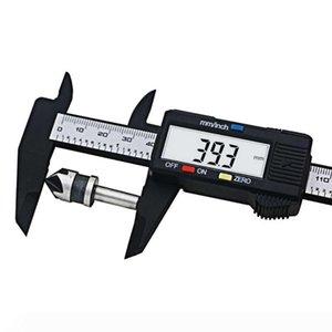 2018 Sale QST New Arrival 1pc 0&150mm 6 Inch Lcd Digital Electronic Carbon Fiber Vernier Caliper Gauge Micrometer Measuring Tools 20pcs