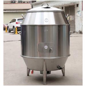 Four à canard rôti au four à charbon Four à poulet rôti Poêle à grillades en acier inoxydable Suspendu Portable Grill BBQ