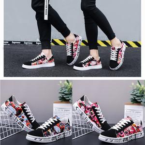 libero moda corridore scarpe da skateboard classici balck rosso bianco confortevoli formatori firmati da tennis degli uomini di formato 36-44 calzature outdoor Wome