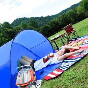 افتتاح الهواء الطلق خيارات التلقائي الخيام الصيف المحمولة يطفو على السطح خيمة شاطئ التخييم الصيد خيام للشخص 3-4 KidsTent LJJZ656