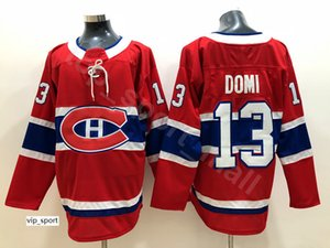 New 13 Max Domi Jersey 몬트리올 Canadiens 100th Classic Hockey Carey Price Shea Weber Andrew Shaw Brendan Gallagher Alex Galchenyuk