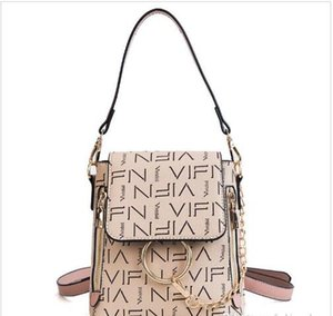2019 new wild single shoulder personality fashion mini bag student backpack