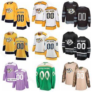 100% des anniversaires de hockey sur glace Colton Sissons Calle Jarnkrok 8 Kyle Turris Ryan Hartman
