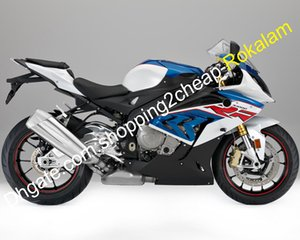 For BMW S1000RR 17 18 S 1000RR 2017 2018 Fairings S1000 RR Blue White Black Aftermarket Fairing Kit