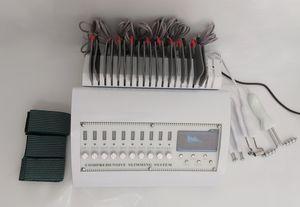 전문 4 일 러시아 파도 EMS 전기 근육 자극기 원적외선 전기 자극 기계와 BIO 페이스 리프트 바디 슬리밍
