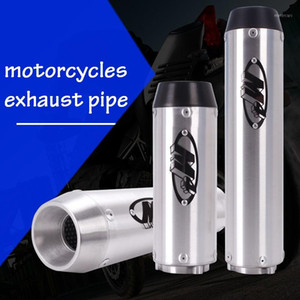 Accesorios de la motocicleta M4 Logo Tubo de escape cilindro recto Para CB400 VTEC CBR250 CBR400 CBR600 F4i XJR400 VFR400 74A F51