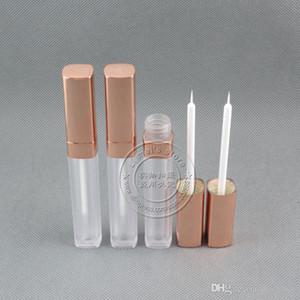 흰색 빈 패키지 250PCS / 많은 안개 고품질의 5.5 ㎖ 평방 액체 아이 라이너 병 눈 젤 접착제 병