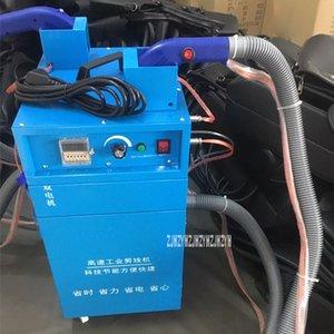 Makine Tel Kesme 808 Çift Kafa Çift Motorlu Otomatik Yakıt Besleme Emme Konu Kesme Makinası Elektrik Konu Cutter bitiyor