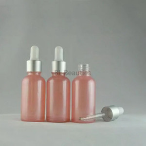 100pcs / lot 30 ml de vidro Dropper Bottle, 30cc-de-rosa de vidro conta-gotas do frasco por óleo essencial ou perfume