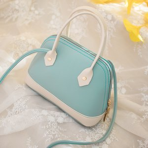 Fashion womanbag Color Hand Bag Purse 2020 Summer New Candy-Colored Shoulder Bag