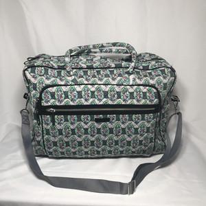 Large Size Weekender sacchetti di cotone pannolini per la mummia Borse celebre Gran Weekender in vendita Overnight Bag con tracolla