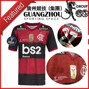 2020 Flamengo Final Supercopa do Brasil Futebol Jerseys Gabriel B. 9 Estácio Nacional Mané Garrincha 20 21 Camisas de futebol Jersey