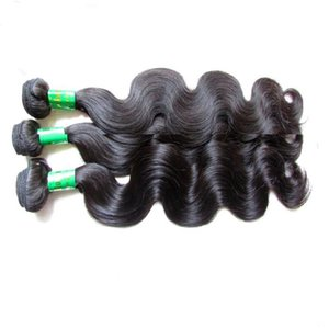 Peruvian remy human hair bundles body wave 3pcs 300g lot unprocessed virgin hair extension natural color good quality soft texture