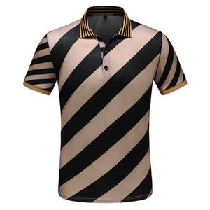 2020 Nouveau Hommes Polos Slim Fit Hommes Polos Fashion Casual Polo Medusa serpent Bee broderie d'affaires Poloshirt