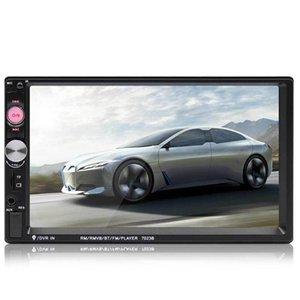 "7"" Universal TouchScreen câmera de segurança Rádio Vídeo MP5 Multimedia Car Player HD"