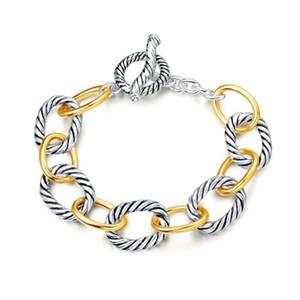 Armband Designer Marke David inspiriert Armbänder antike Frauen Schmuck Kabel Draht Vintage Armband Weihnachtsgeschenke Armbänder