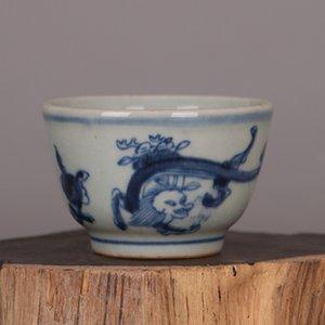 Античный керамическая чашка чая высокого качества 100мли фарфор ручной росписи чашки пиалы Малой