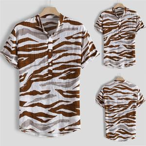 Shirts Os homens de Preço Baixo Vestido Mens Multi Color Lump manga curta em torno Hem soltos Shirts Blusa Camisa Masculina Slim Fit