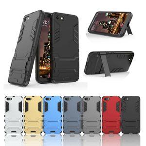 TPU + PC doble capa híbrido Kickstand caso para Huawei P40 Pro P30 Lite E Y7P Nova 6SE cubierta dura a prueba de golpes