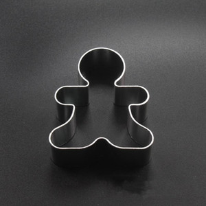 Shaped do bolinho Moldes liga de alumínio Gingerbread Men Natal animal árvore Ferramentas DIY Baking Moldes Cookie Cutter cozimento HHA869