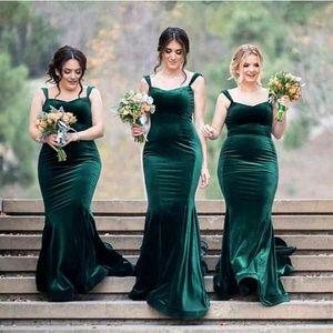 Green Satin Sexy 2020 Spaghetti Straps Mermaid Bridesmaid Dresses Sweetheart Wedding Party Dress For Bridesmaid Group Dress For Wedding Gue
