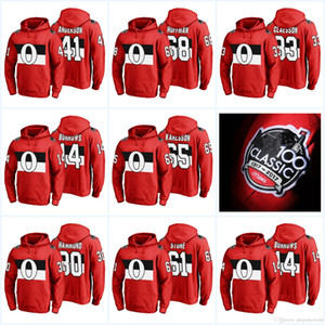 65 Erik Karlsson 100th Classic Hooded Sweatshirt Ottawa Senators 95 Matt Duchene 9 Bobby Ryan 41 Craig Anderson 2 Dion Phaneuf Hockey Jersey