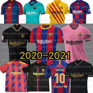 El sudor 10 Messi camiseta de fútbol 2021 nueva Barcelona Griezmann Semedo PIQUÉ Busquets Suárez Camiseta de Fútbol Umtiti Firpo Formación Dembélé