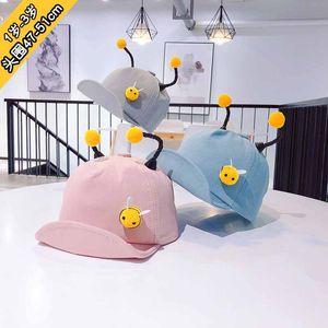 Лето Маленькой пчелы Snapback Cap Детский Симпатичные Antenna Бейсбол Hat Открытый Hat с щитками для детей