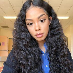 Tief Curly 13x6 Spitze-Front-Perücken 100% Menschenhaar-volle Spitze-Perücken Short Bob 360 Lace Frontal-Perücken für schwarze Frauen
