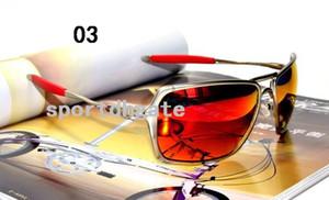 Protection 100% UVA UVB cadre en alliage Détenus de qualité supérieure nouvelles lunettes de soleil de mode pour homme Lunettes Lunettes de soleil UV400 verres avec boîte