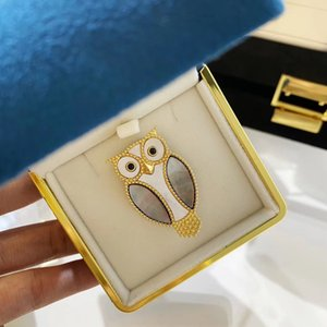Broch pearl natural stone S925 silver plating 2020 cute animal temperament gift coats women