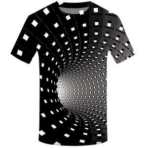 Moda Erkekler 3D Baskı Tişört Yuvarlak Yaka Kısa Kollu Polyester + Spandex Frank Zappa En Streetwear Üst Tees Erkek Giyim